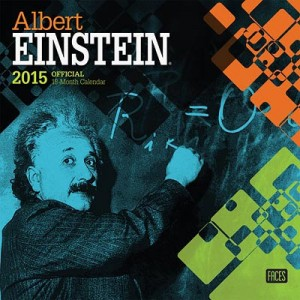 Albert Einstein 2015 Wall Calendar