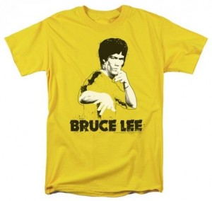 Bruce Lee Splatter T-Shirt