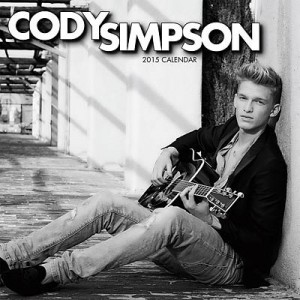 Cody Simpson 2015 Wall Calendar