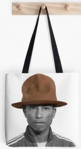 Pharrell Williams Hat Tote Bag