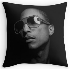 Pharrell Williams Throw Pillow
