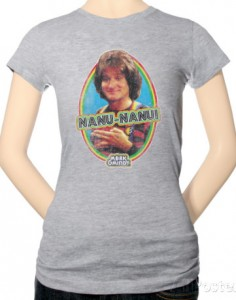 Robin Williams Nanu Nanu T-Shirt