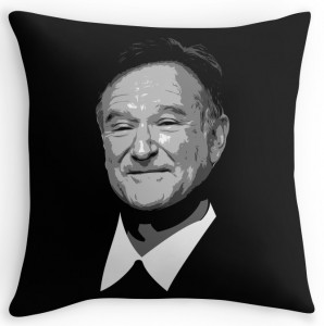 Robin Williams Pillow