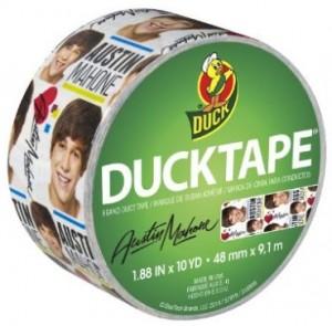 Austin Mahone imaged Duck Tape