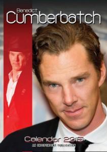 Benedict Cumberbatch 2015 Wall Calendar