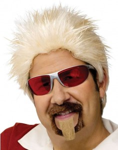 Chef Guy Fieri Wig And Goatee