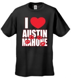 I Love Austin Mahone Kids T-Shirt