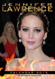 Jennifer Lawrence Celebrity Wall Calendar 2015
