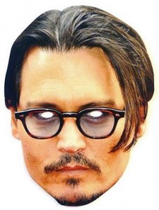 Johnny Depp Glasses Celebrity Mask