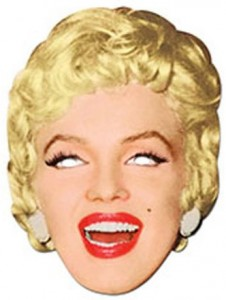 Marilyn Monroe Official Celebrity Mask