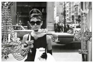 Window Shopping Audrey Hepburn Poster