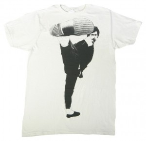 Bruce Lee Face Kick T-Shirt