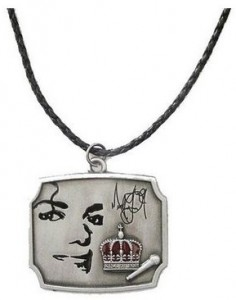 Michael Jackson The King Of Pop Necklace