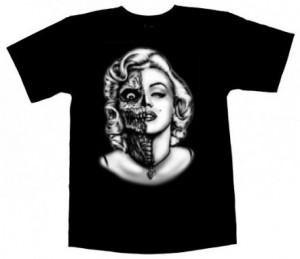 Marilyn Monroe Sugar Skull T-Shirt