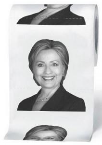 Hillary Clinton 2-Ply Toilet Paper