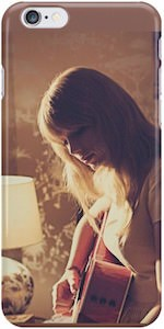Taylor Swift Playing Guitar iPhone Case
