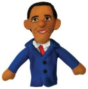 Barack Obama Finger Puppet