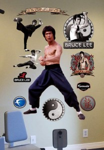 Bruce Lee Wall Decal Set