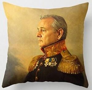 High Society Bill Murray Throw Pillow