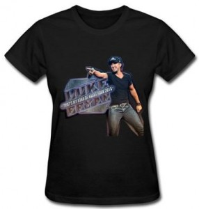 Luke Bryan Kick Up The Dust Tour 2015 T-Shirt