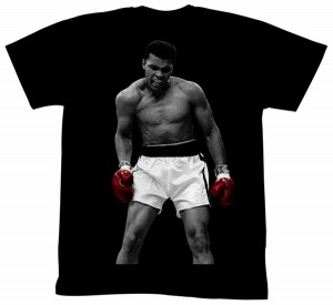 Muhammad Ali Red Gloves T-Shirt