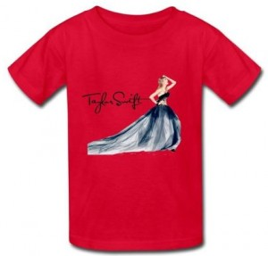 Taylor Swift Signature Kids T-Shirt
