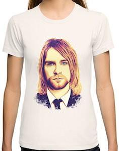 Dressed Up Kurt Cobain Women's T-Shirt