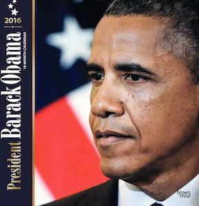 2016 President Barack Obama Wall Calendar