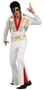 Elvis White Adult Deluxe Costume