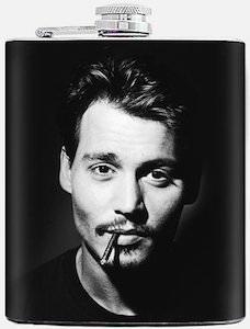 Johnny Depp Flask