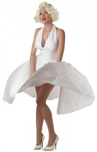Marilyn Monroe Classic White Dress Costume