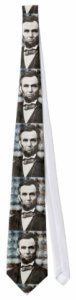 Abraham Lincoln Photograph Tie
