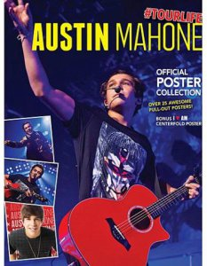 Austin Mahone Red Guitar Poster Book