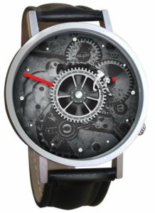Charlie Chaplin Riding Gears Watch
