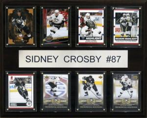 Sidney Crosby 8 Card Plaque