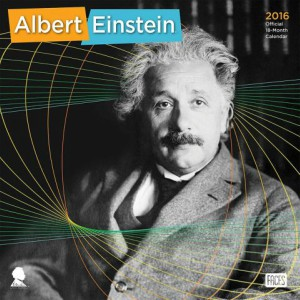 Albert Einstein 2016 Wall Calendar