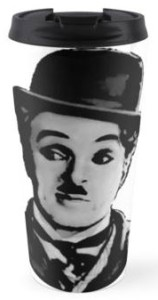 Charlie Chaplin Tramp Travel Mug