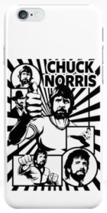 Chuck Norris Collage iPhone Case