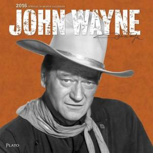 John Wayne Wall Calendar 2016