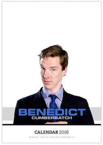 Benedict Cumberbatch Wall Calendar