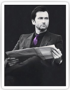 David Tennant As Kilgrave Sticker