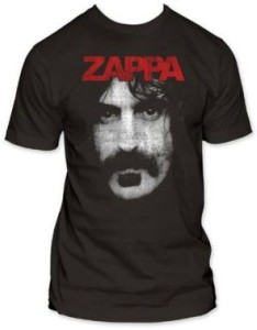 Shadowed Frank Zappa Face T-Shirt