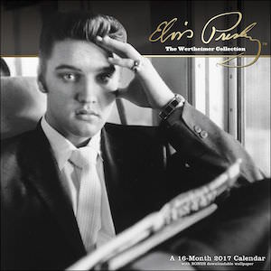 Elvis The Wertheimer Collection Wall Calendar 2017