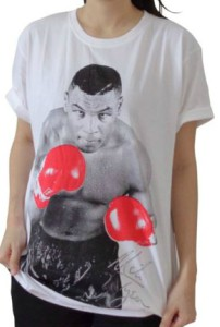 Mike Tyson Red Gloves T-Shirt