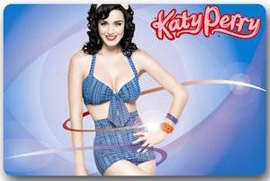 Katy Perry Doormat
