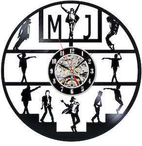 Micheal Jackson Vinyl Record Wall Clock