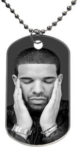 Drake Holding His Ears Necklace