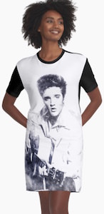 Elvis Presley Portrait Dress