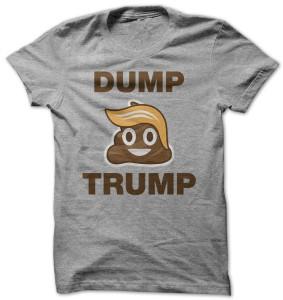 Dump Trump Emoji T-Shirt