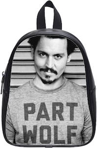 Johnny Depp Part Wolf Backpack